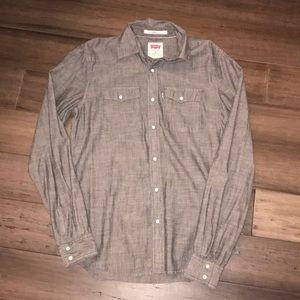 Men's Levi's Medium Button Down Shirt
